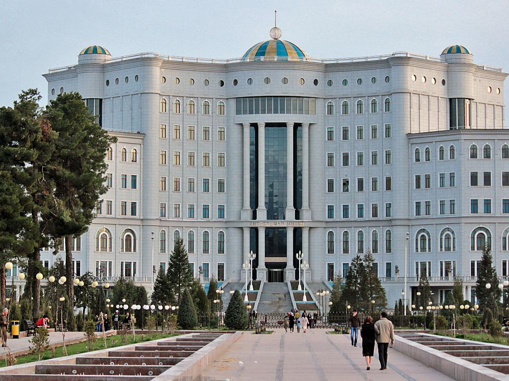 Таджикистан национальная библиотека