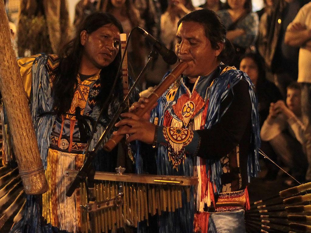 Индейцы на ВДНХ