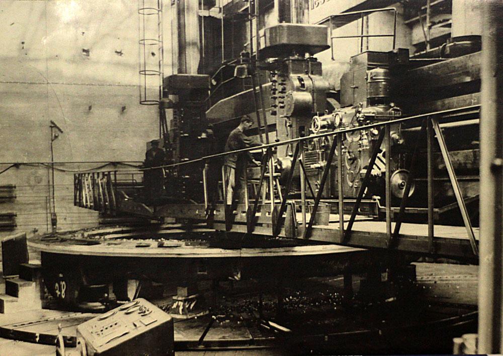 Угличская ГЭС Верхнее кольцо направляющего аппарата