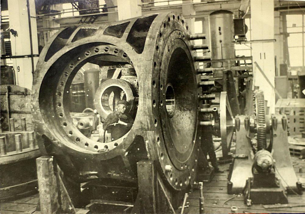 Угличская ГЭС Корпус втулки рабочего колеса