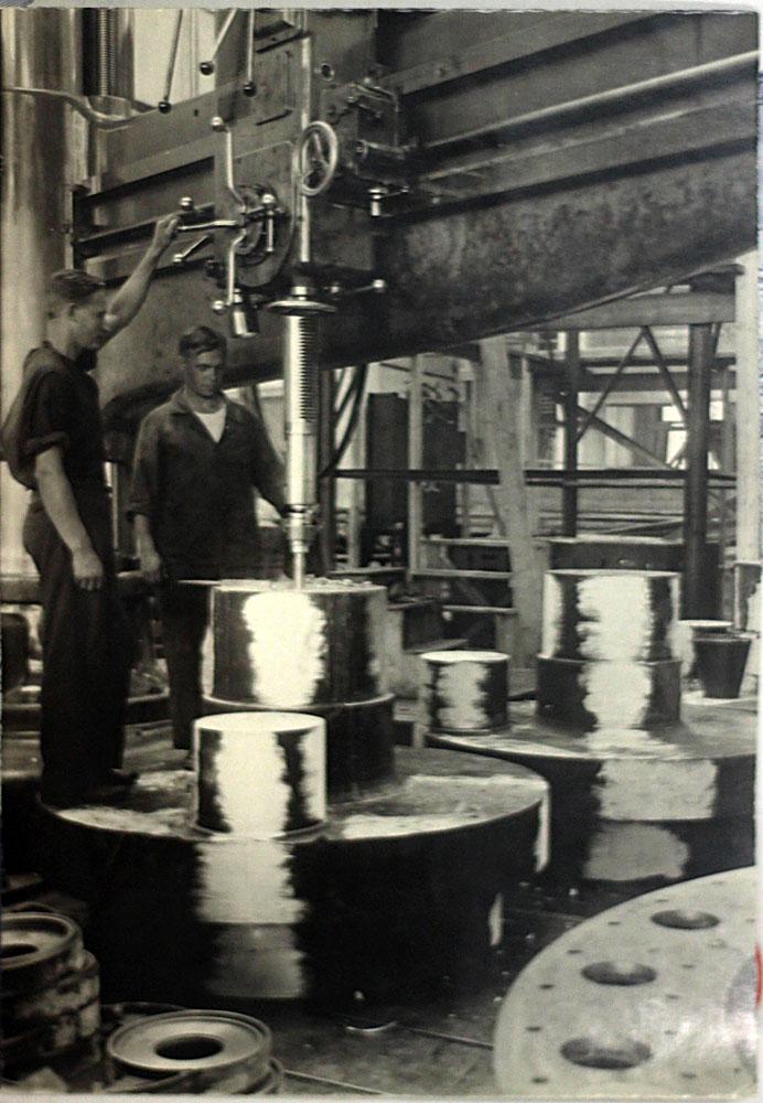 Угличская ГЭС Цапфа лопасти рабочего колеса
