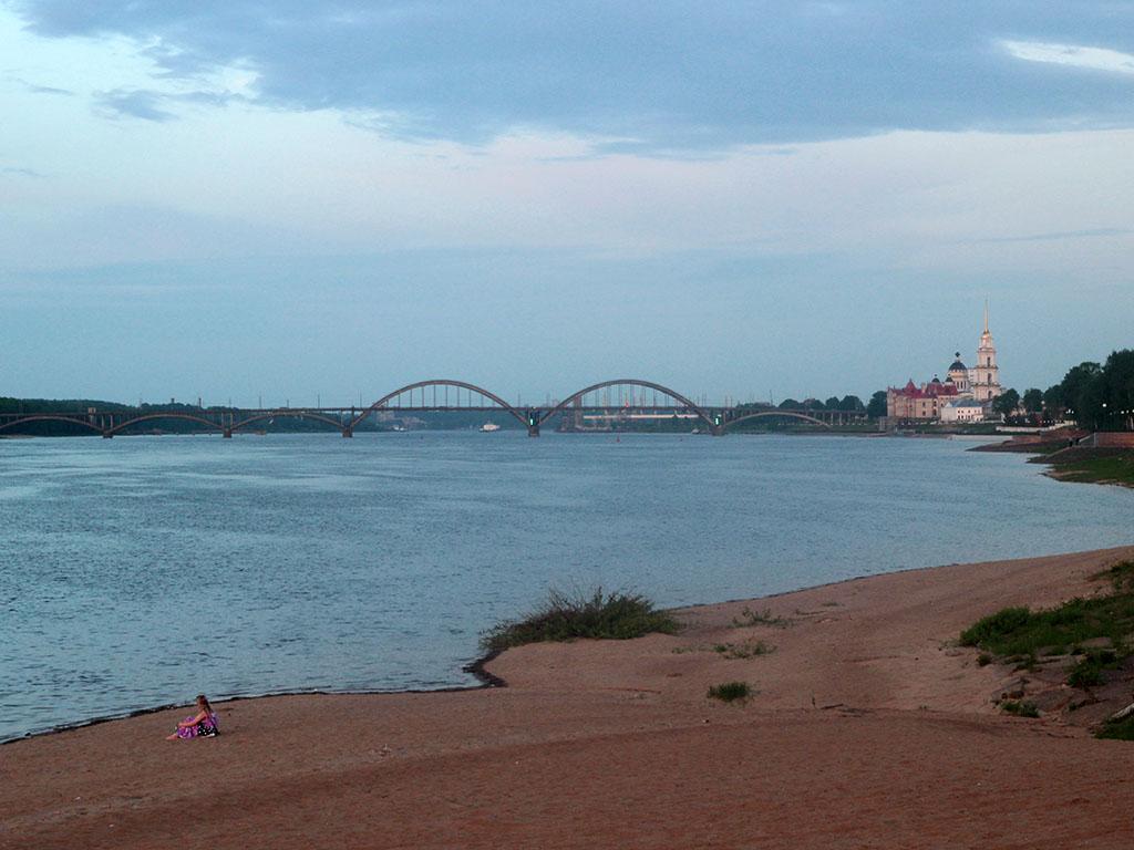 Волга. Рыбинск