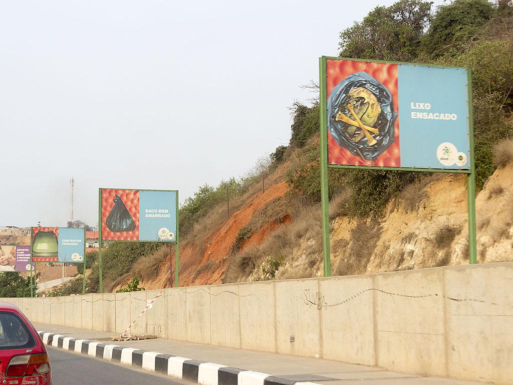Луанда Реклама