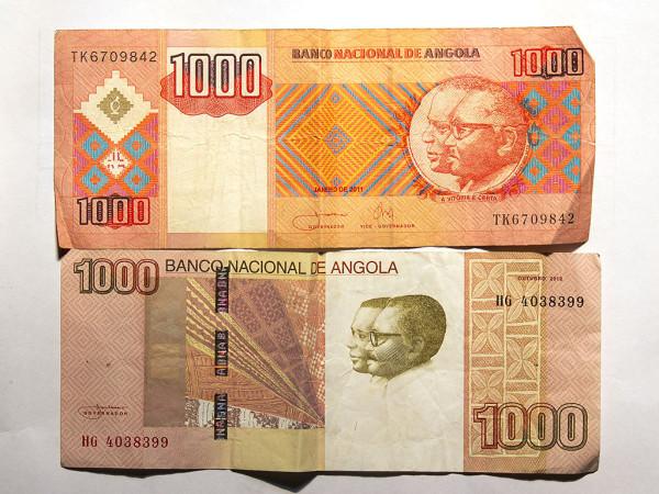 Ангольские кванзы