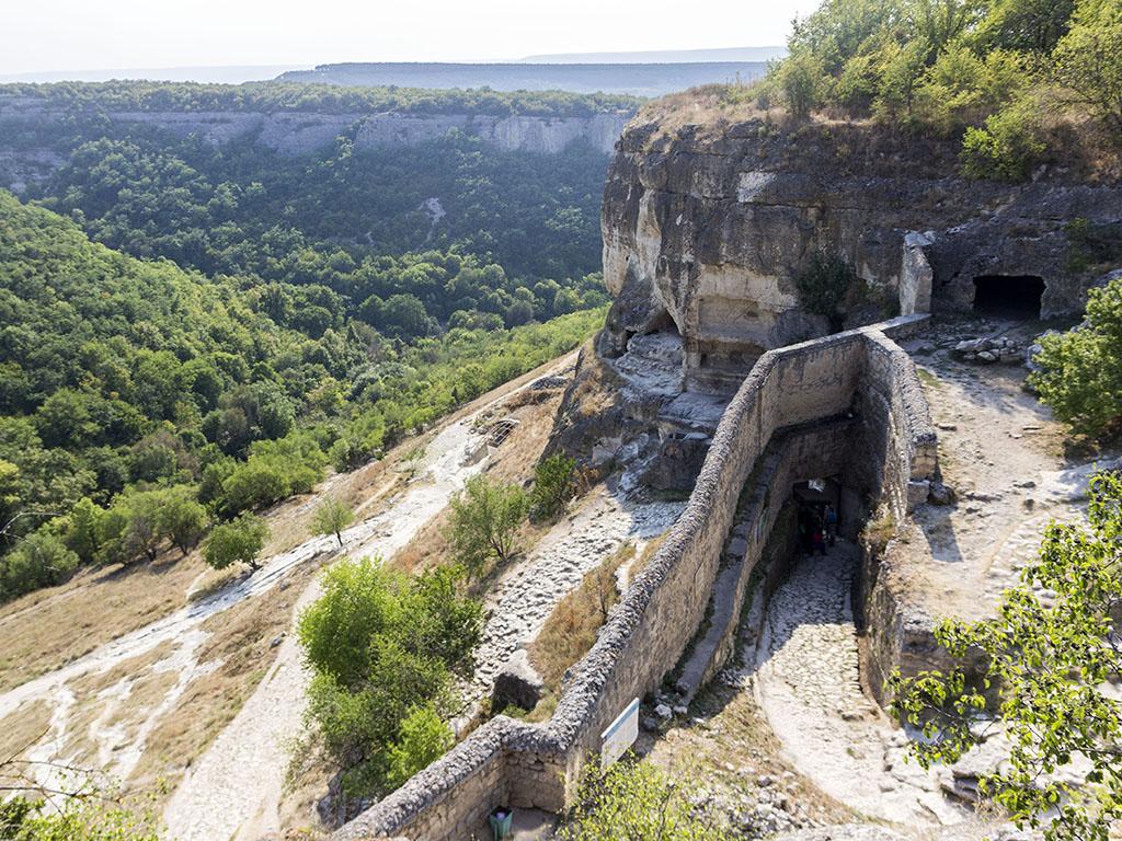 пещерный город в Бахчисарае