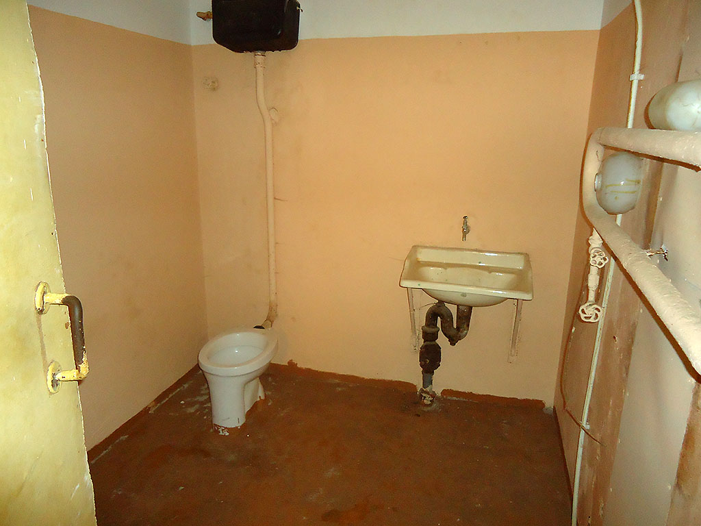 Туалет в бункере Сталина