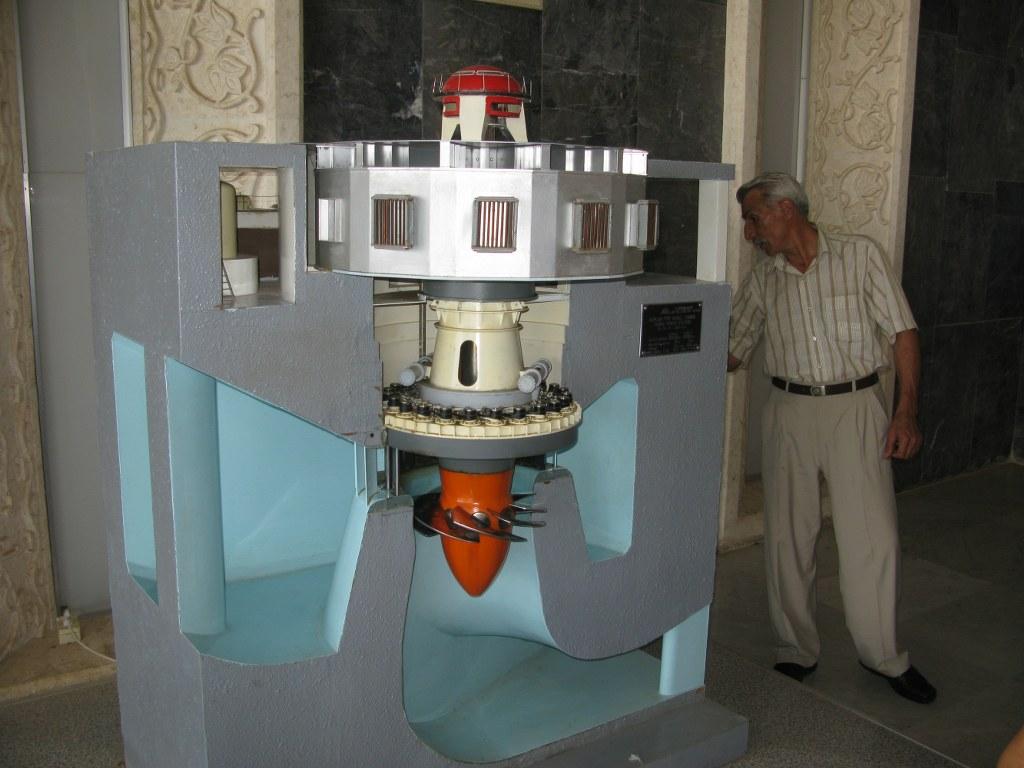 Макет гидроагрегата