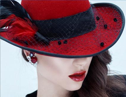 красная шляпа