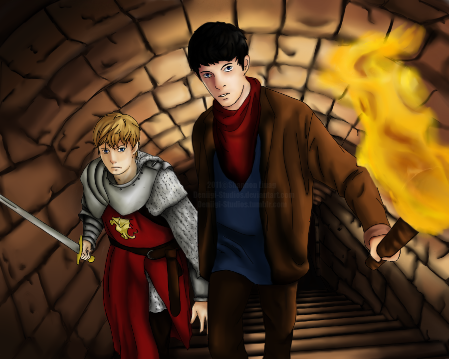 Merlin_and_ArthurCOLOR