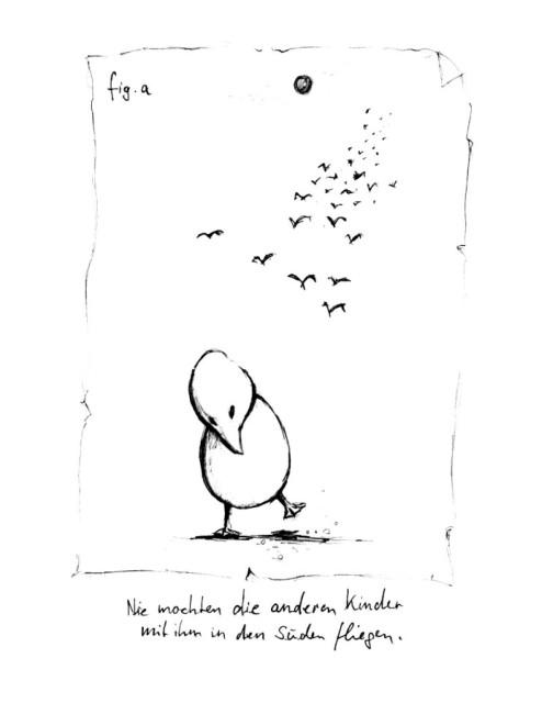 Vögelkinder können so gemein sein