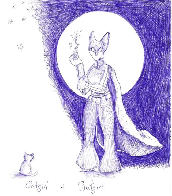 catgirl n´ batgirl