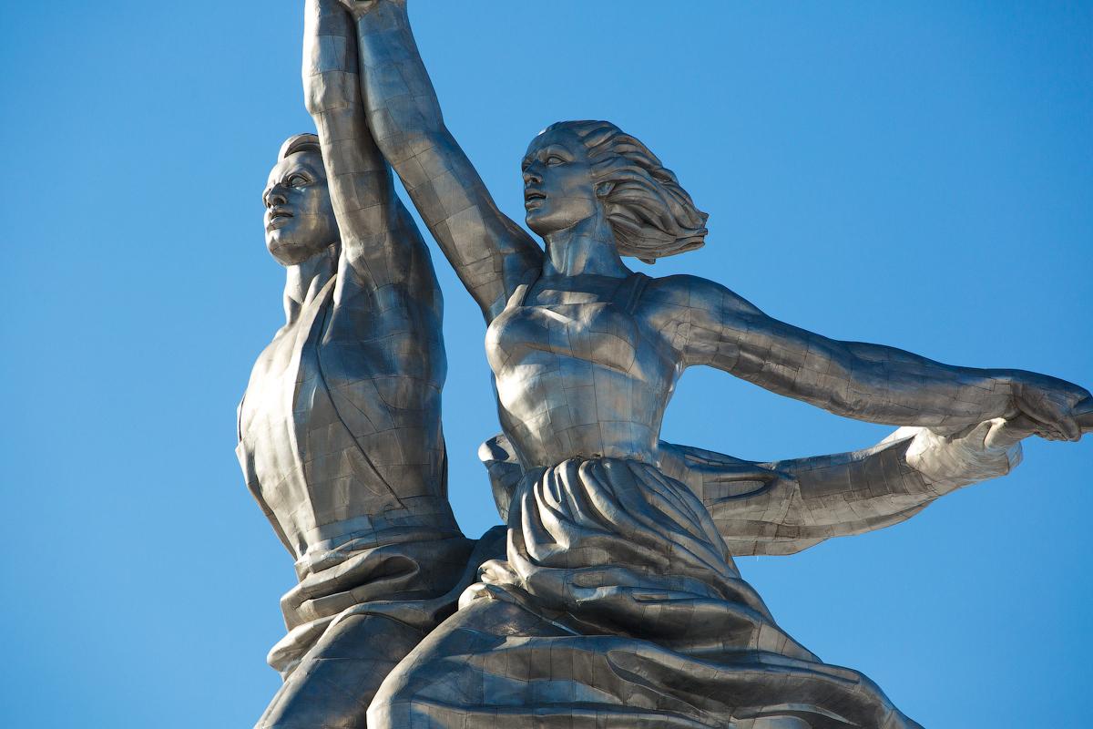 следующей неделе скульптура рабочий и колхозница фото отправкой формы