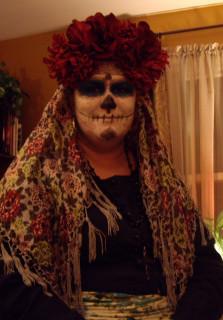 La Calavera Catrina, 10/31/2010.