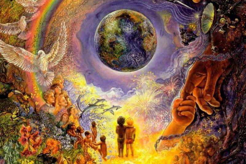 Вселенная, созданная Богом, совершенна и истинна...