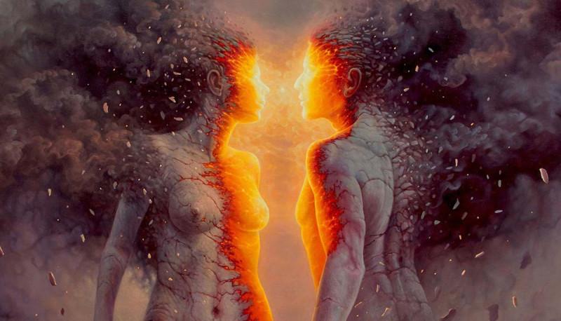 Вот Вы и отражение Ваше соединились..., независимо от пола.