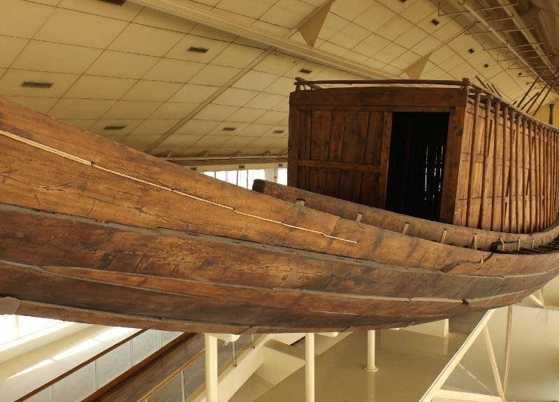 Корпус корабля Хеопса