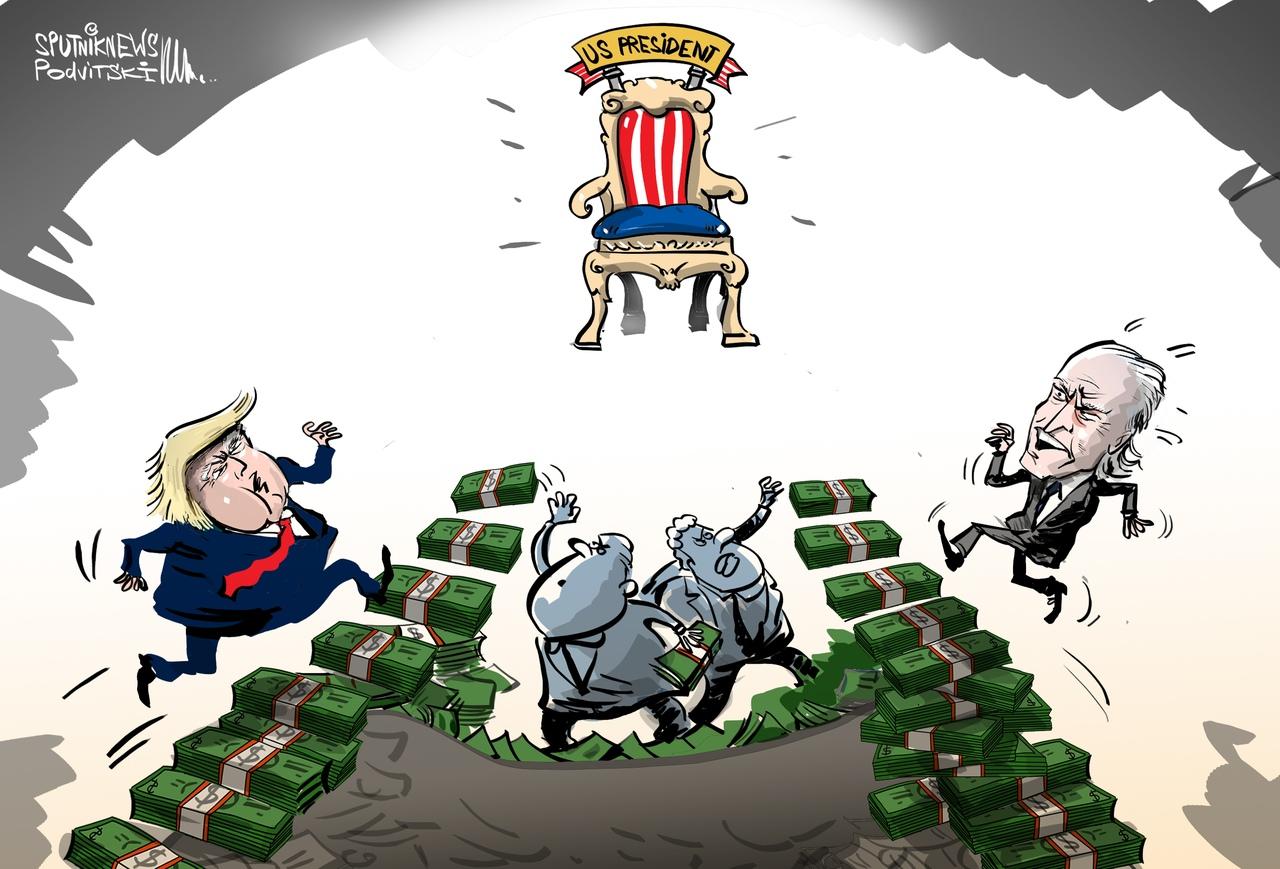 Анекдоты Про Трампа И Байдена
