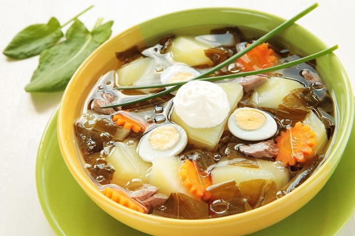 Рецепт супа с перепелиными яйцами