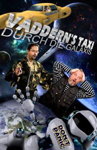 Per Vaddern's Taxi durch die Galaxis