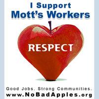 Mott's workers strike