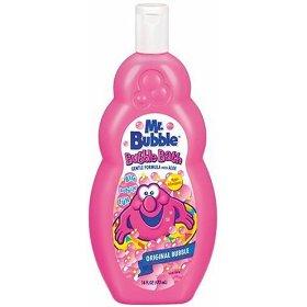 Mr. Bubble bubble bath
