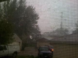 storm finally hits