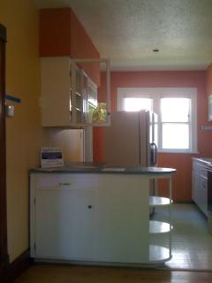 kitchen through south window