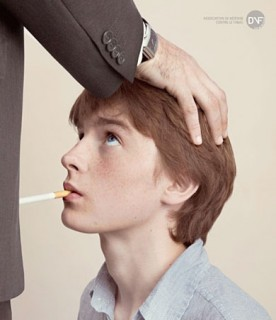 anti-smoking imagery