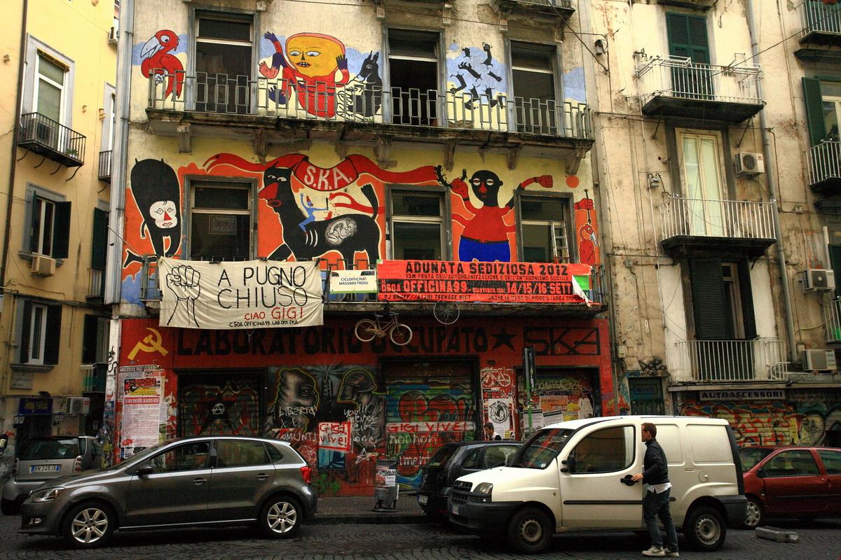 Хаос, грязь, мусор – это тоже про Неаполь.