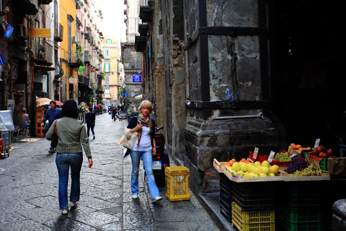 Кварталы Неаполя