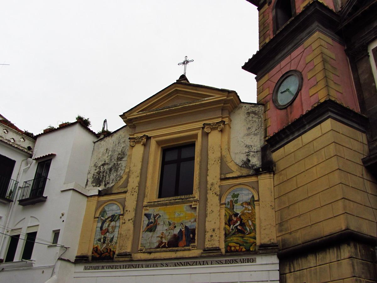 Во Вьетри интересный собор
