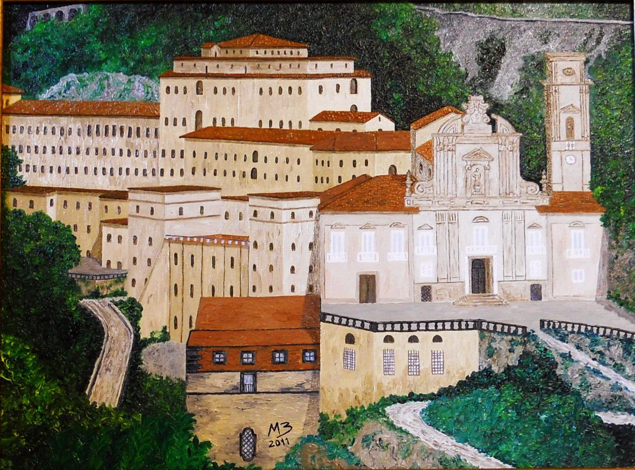 abbaziadellabadiadacavade'tirreni2olio30x40