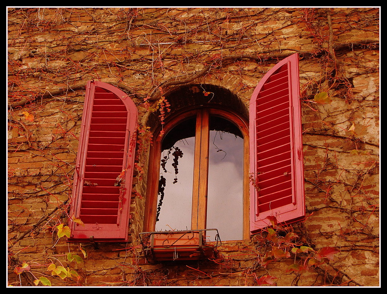 certaldo window