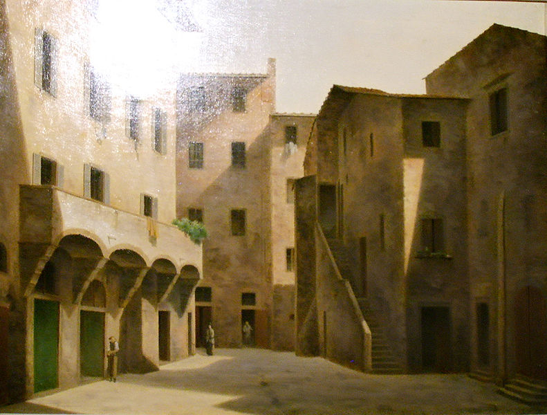 791px-Fabio_borbottoni,_1820-1902,_piazza_della_luna_nel_mercato_vecchio