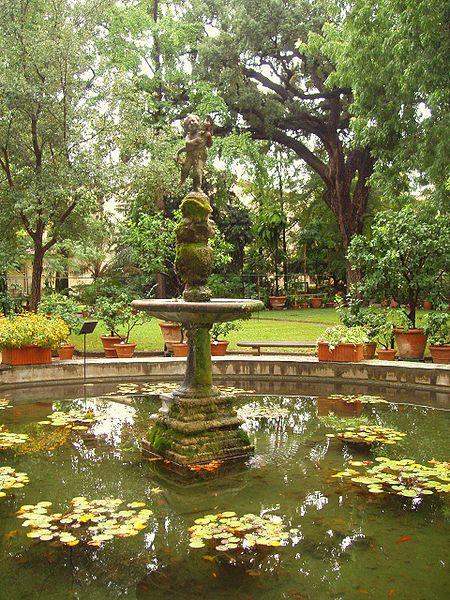 450px-Orto_Botanico_di_Firenze_-_fountain