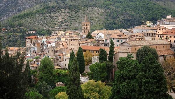 Итальянский ноябрь. Городок Тиволи