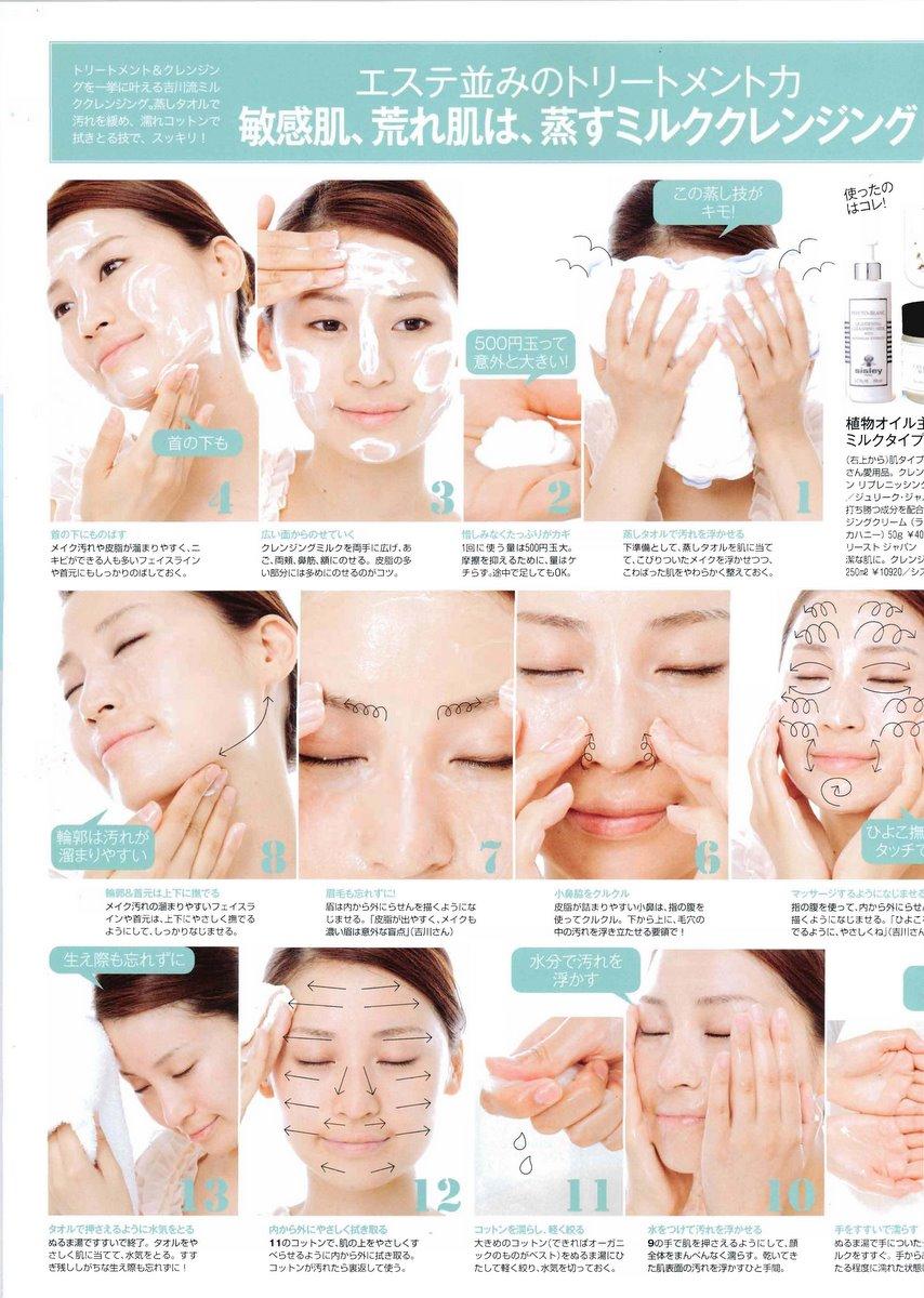 Этап 2. Умывание Кожа уже предварительно очищена от макияжа, частичек пыли и избытка кожного жира.