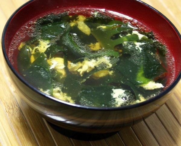 корейский суп из морской капусты