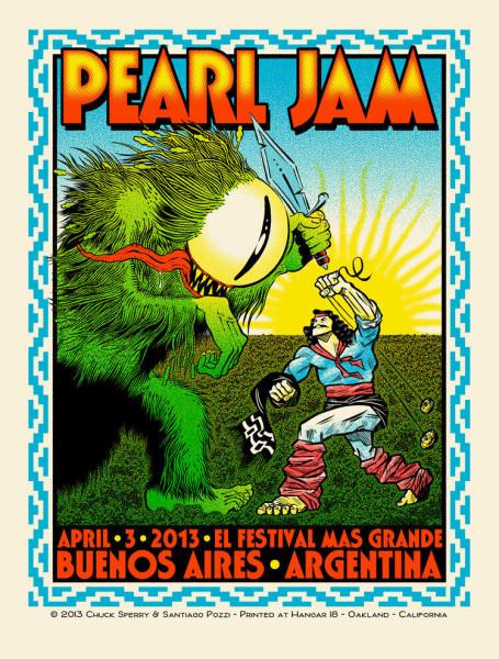 PJ BA Argentina 2013 Poster