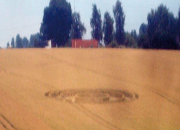 круг в Момале, Бельгия, 9.07.2011