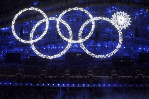 американское кольцо не раскрылось на церемонии открытия Олимпиады в Сочи