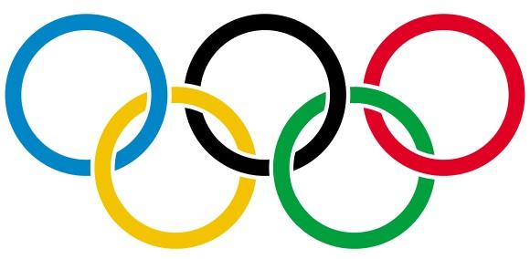 олимпийские кольца на флаге