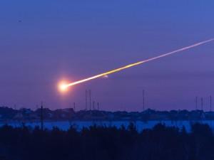 фото падения Чебаркульского метеорита