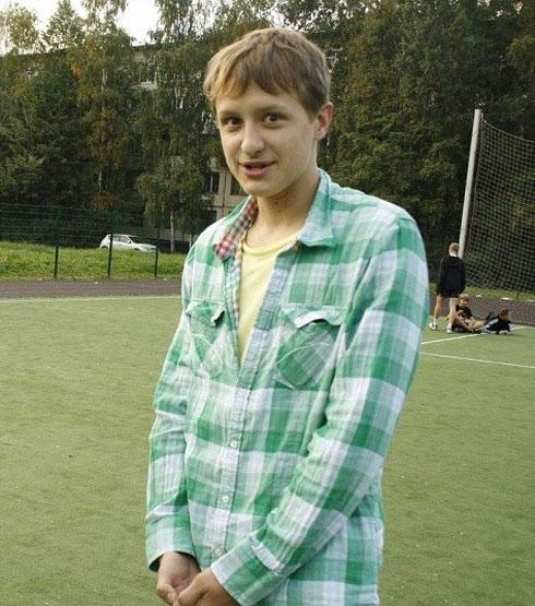 15-летний Никита Леоньтев. 2011. Петербург