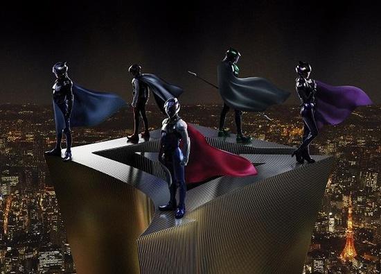 gatchaman-suits