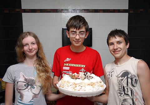 торт от Дюбушки
