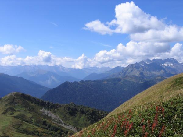 Альпийские луга.По дороге на озёра. (3)