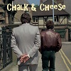 chalk and cheese icon