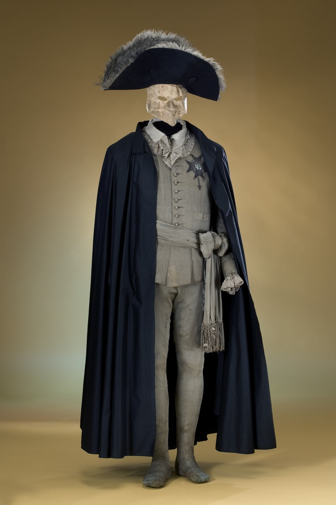 Маскарадный костюм Густава III, фото из Википедии.