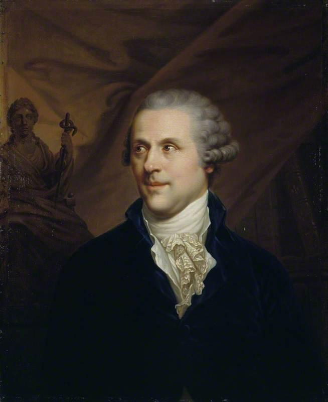 Иоганн Баптист Лампи старший. Портрет Джона Роджерсона – лечащего врача Екатерины II.